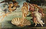 サンドロ・ボッティチェッリ『ヴィーナスの誕生』